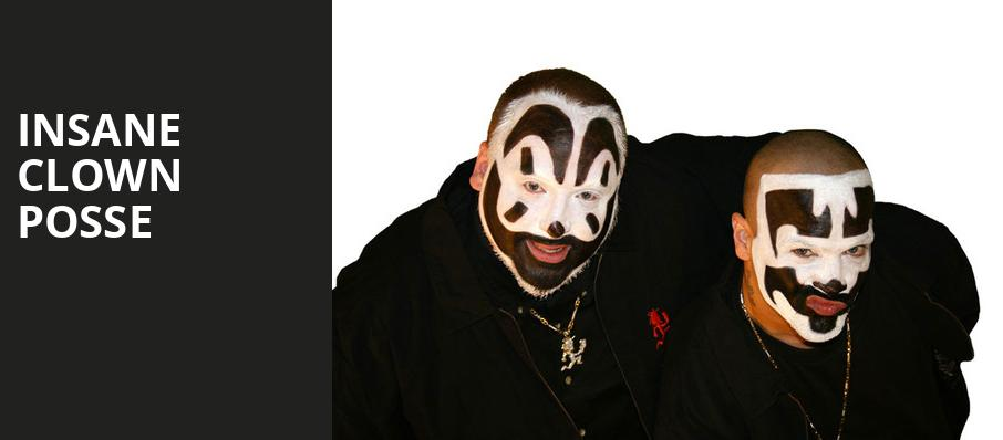 Insane Clown Posse, Skyway Theater, Minneapolis