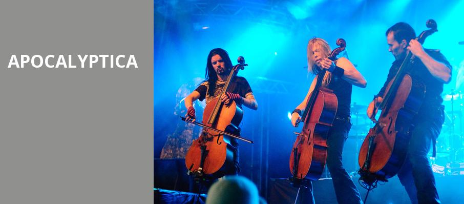 Apocalyptica, First Avenue, Minneapolis