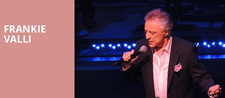 Frankie Valli, Orpheum Theater, Minneapolis