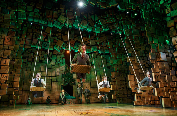 Matilda The Musical, Orpheum Theater, Minneapolis