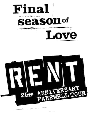 Rent, Orpheum Theater, Minneapolis
