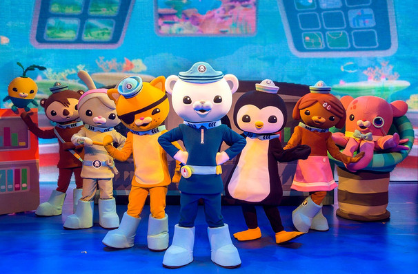 Octonauts Live, Northrop Auditorium, Minneapolis