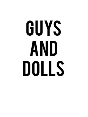 Guys and Dolls, Wurtele Thrust Stage, Minneapolis
